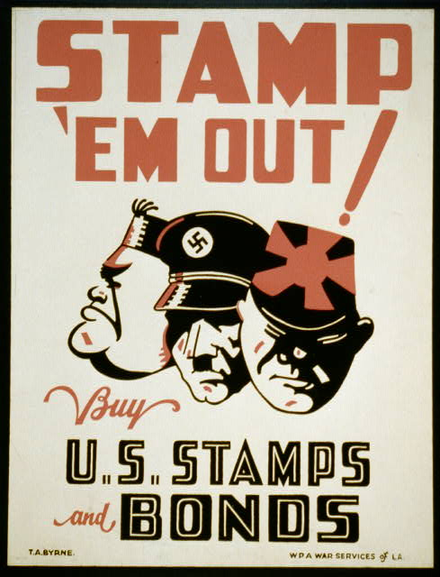 Stamp 'Em Out - Propaganda at its best