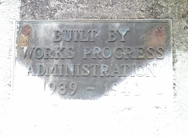 Built By the Works Progress Administration, 1939-1940