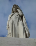 The Mourning Mother at Vimy Ridge