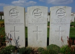Two brothers at Poziers cemetery